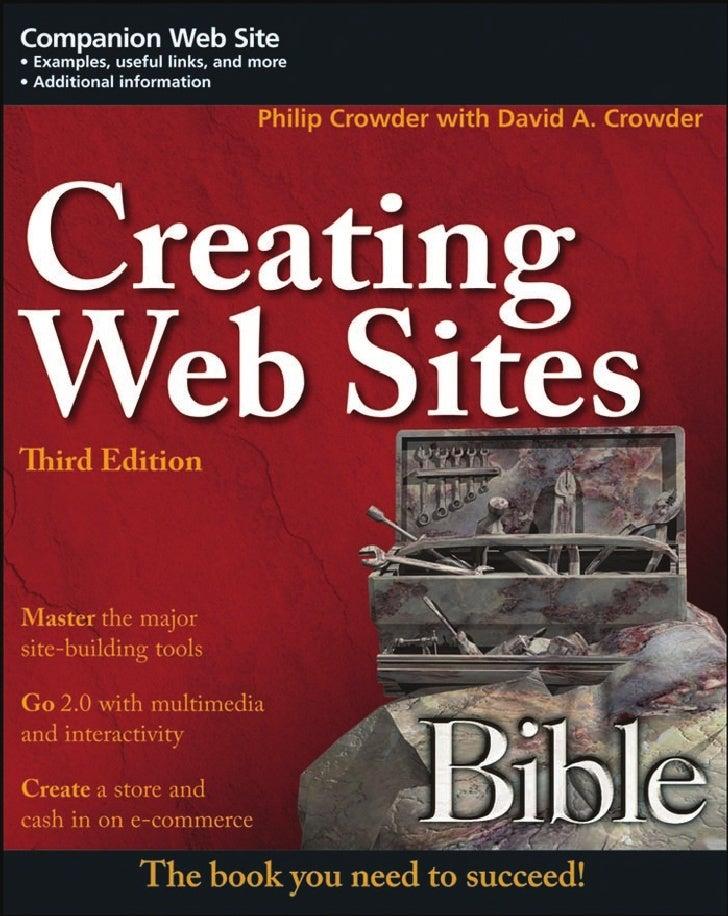 Creating Web Sites Bible Jun 2008