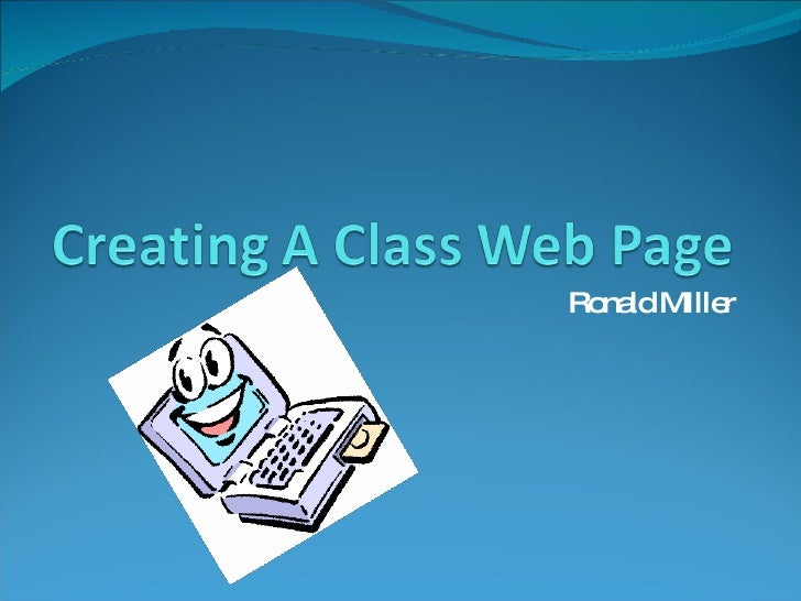 Creating A Web Site with Google Sites