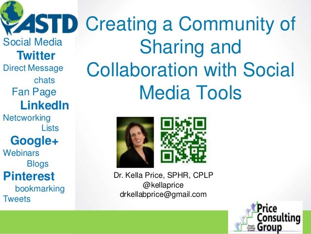 Creating a community of sharing and collaboration with social media tools slideshare version