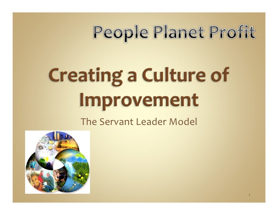 Creating A Culture Of Improvement