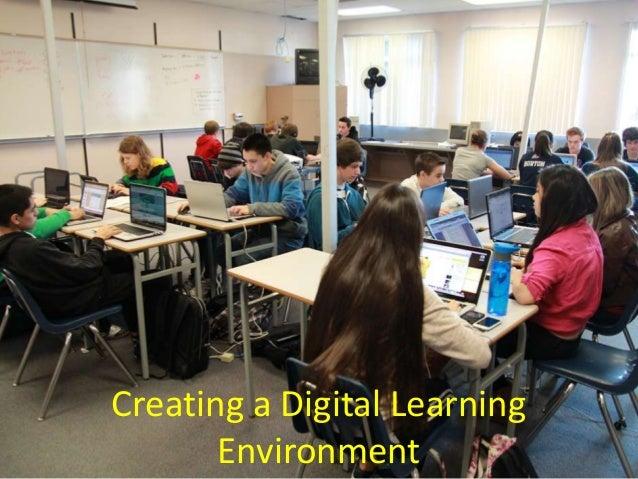 Creating a digital learning environment   backbone