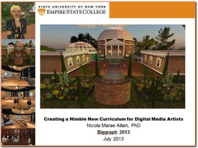 Creating a nimble new curriculum for digital media artists