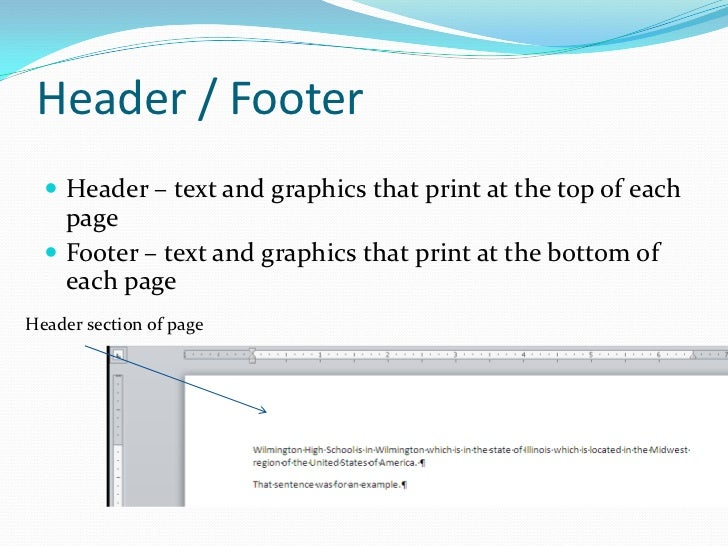research paper header and footer Instructions on how to add and remove headers and page numbers in word.