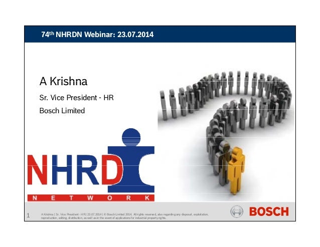 74th NHRDN Webinar: 23.07.2014 Creating a strong talent pipeline How ready are you?Creating a strong talent pipeline How r...