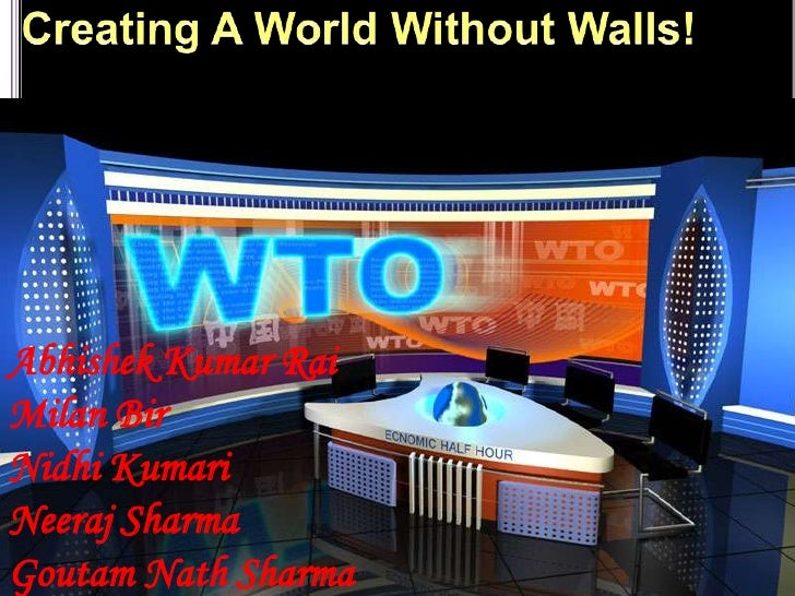 Creating A World Without Walls!