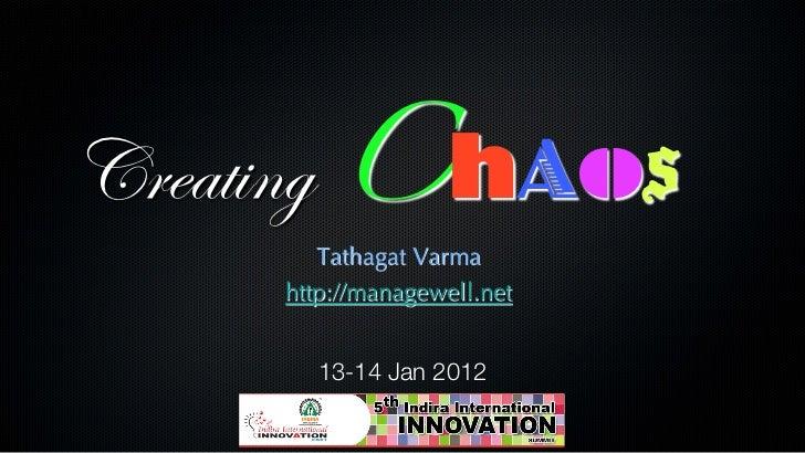 Creating Chaos Part2