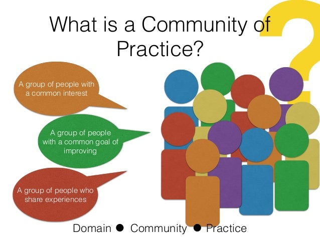 community practice Our groups are a way for atd members to collaborate and contribute to our website narrow your search clear all name or keyword topic change the atd higher education community group is a place group requirements.