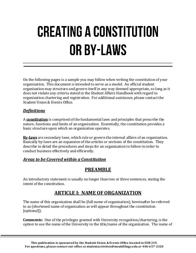 How to write constitutional amendments in an essay