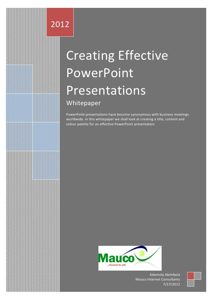 making effective and professional presentations Professional oral presentations you can use the same communication techniques for spoken professional presentations in admire and find effective and.