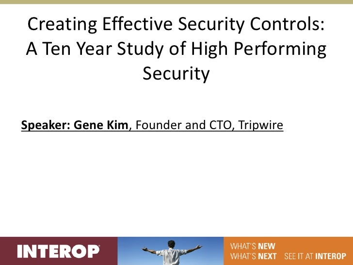 Creating effective security controls