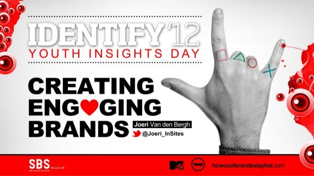 Creating Engaging Brands at Identify '12 by Joeri Van den Bergh