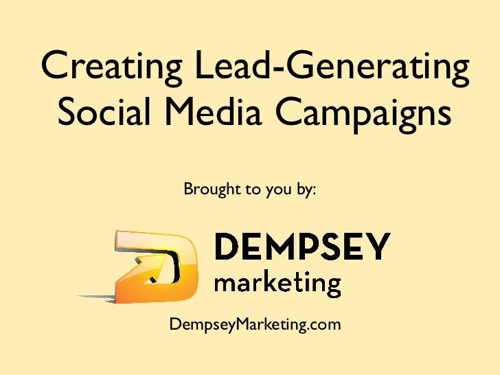 Creating Lead-Generating Social Media Campaigns