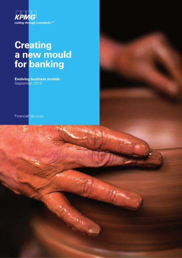 Nieuwe bedrijfsmodellen voor banken