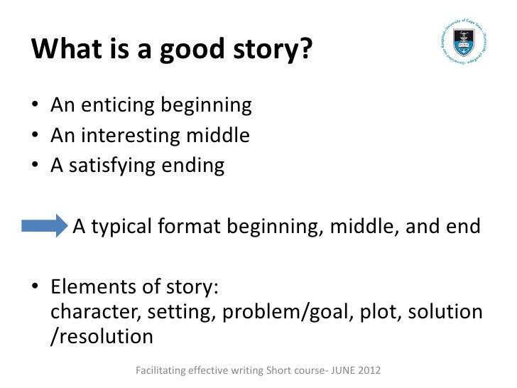 How To Write A Good Creative Story