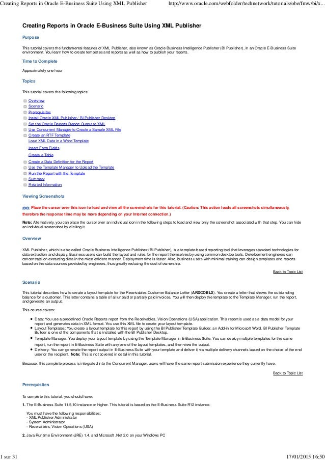 Oracle e business suite resume christian