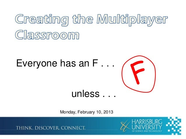 Creating the Multiplayer Classroom