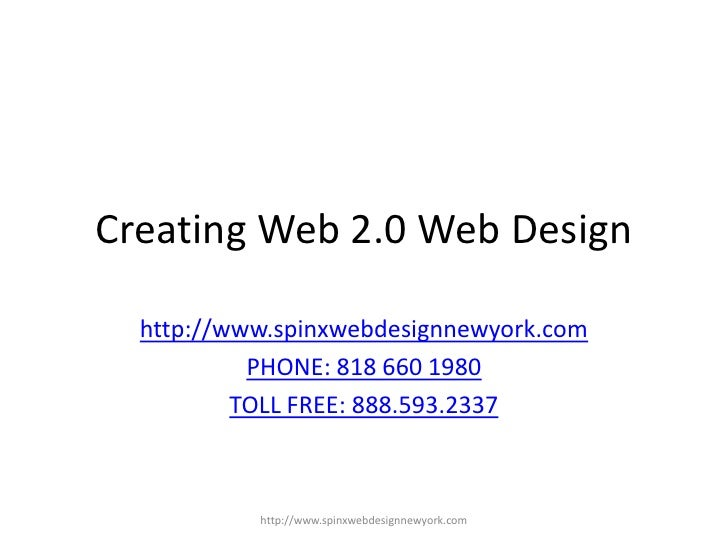 How to create web 2.0 web design