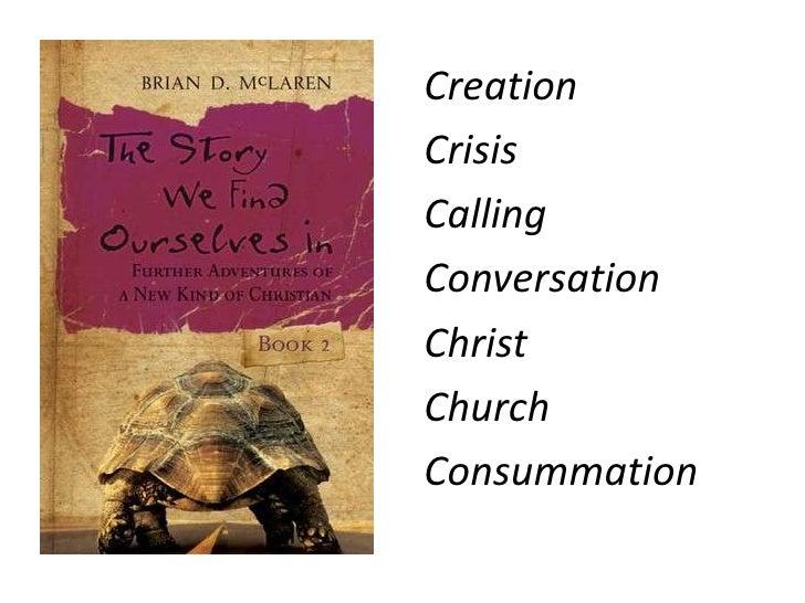 Creation<br />Crisis<br />Calling<br />Conversation<br />Christ<br />Church<br />Consummation <br />