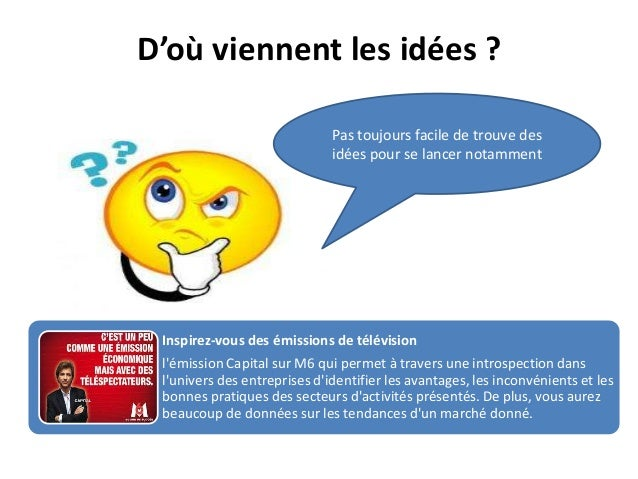 Creation d entreprise for Meilleures idees creation entreprise