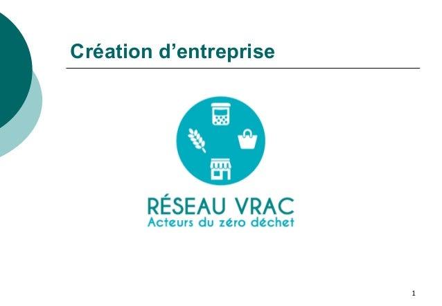 1 Création d'entreprise