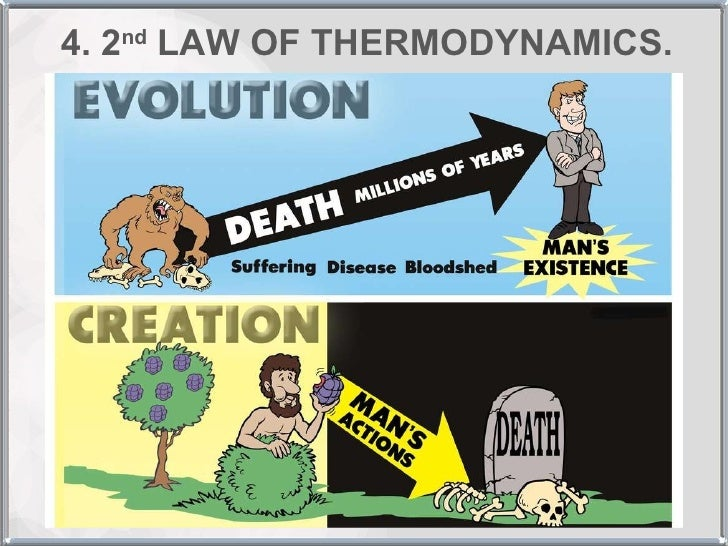 the second law of thermodynamics vs the theory of evolution Does life on earth violate the second law of thermodynamics evolution still violates the second law for the earth the theory of almost everything.