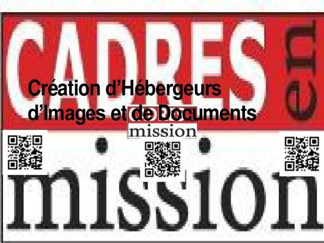 Création d'Hébergeursd'Images et de Documents