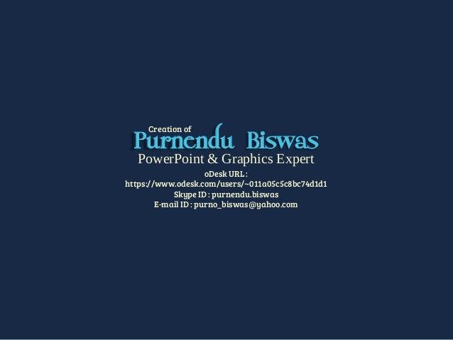 Creation of purnendu biswas