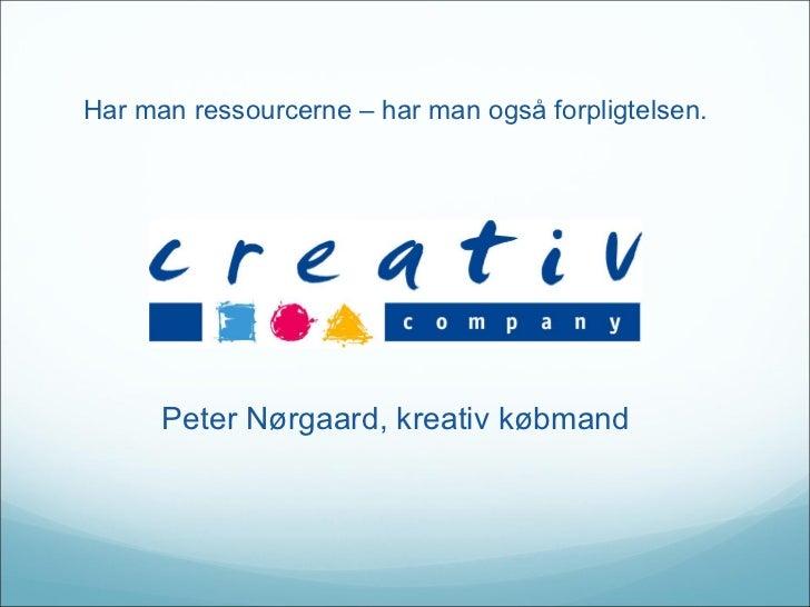 Creativ Company  - CSR i praksis: Code of Care