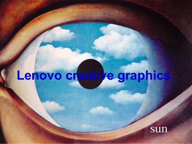 Lenovo creative graphics sun