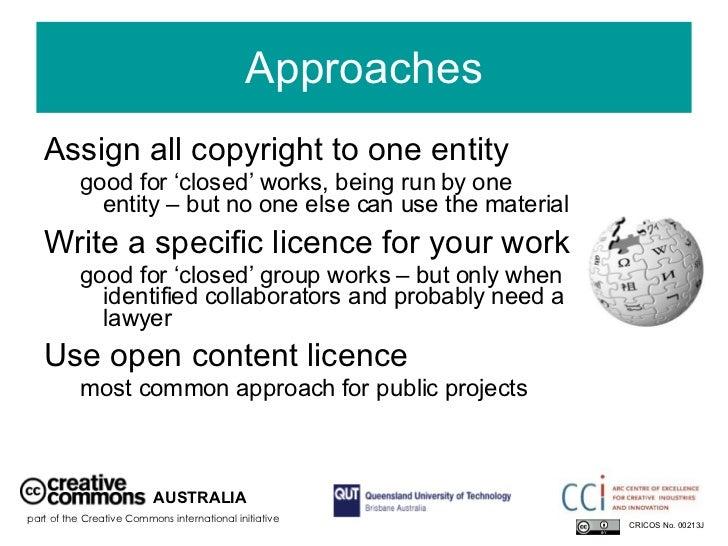 Assign copyright