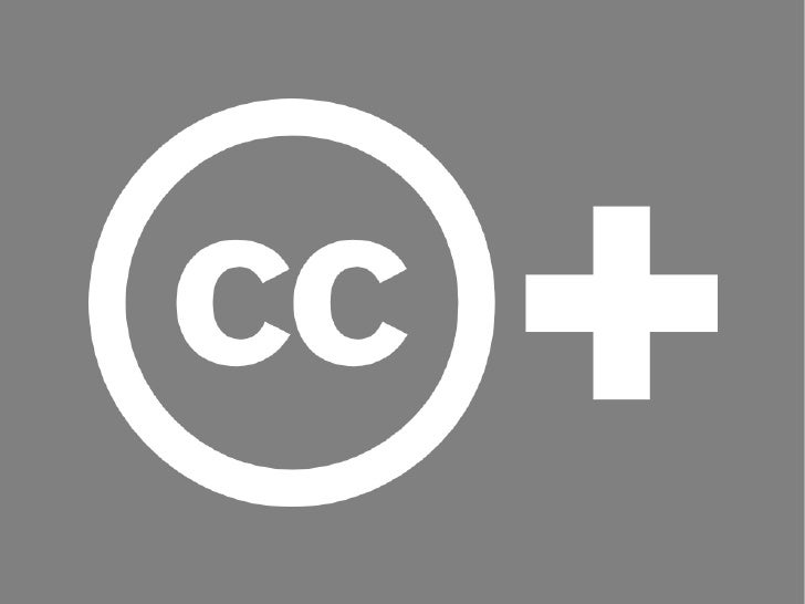 Creative Commons CC+  Examples