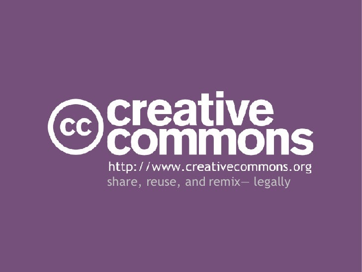 Creative Commons Overview 2