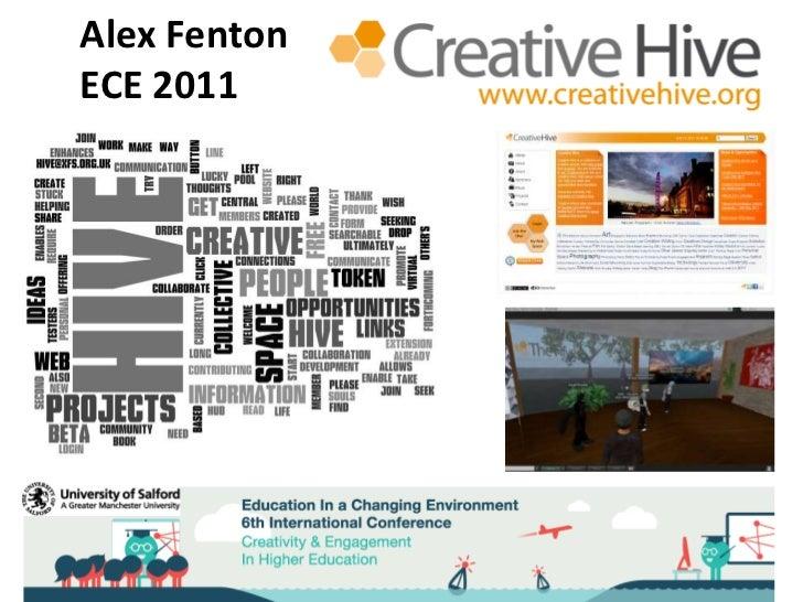 Alex FentonECE 2011<br />Alex Fenton<br />