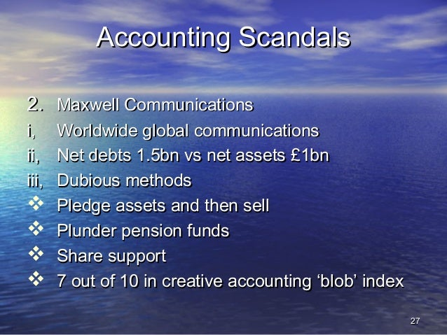 worldcom creative accounting Accounting fraud at worldcom case solution,accounting fraud at worldcom case analysis creative accounting is the name for these kinds of illegal activities.
