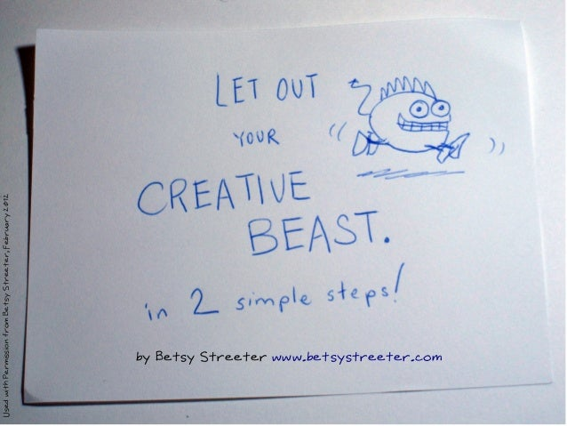 Let Out the Creative Beast