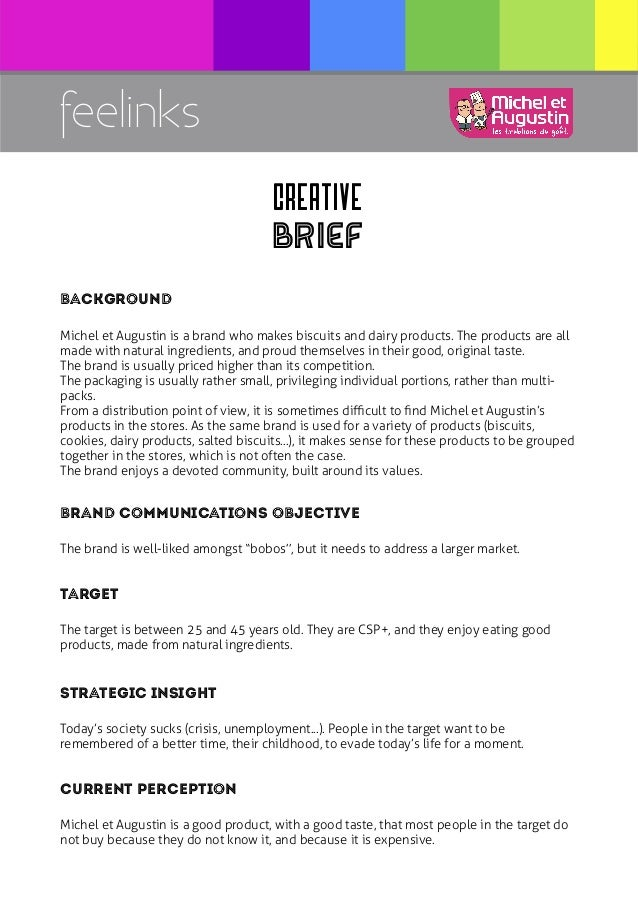 Creative brief O7dthDnf