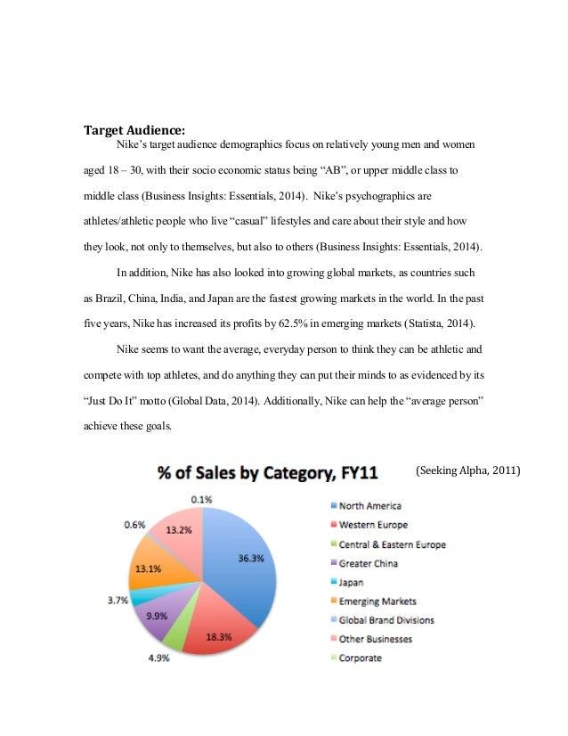 the target market essay