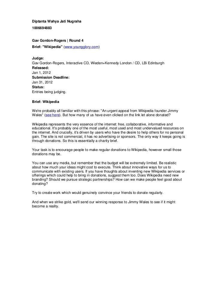 "Diptanta Wahya Jati Nugraha1006694883Gav Gordon-Rogers | Round 4Brief: ""Wikipedia"" (www.youngglory.com)Judge:Gav Gordon-Ro..."