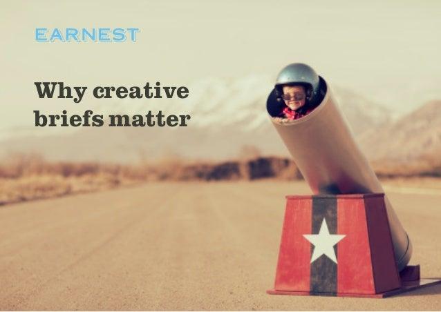 Why creative briefs matter