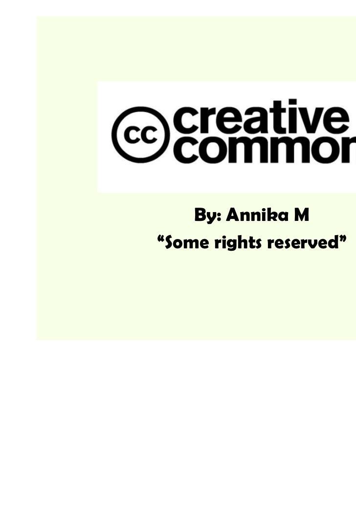 Creative Commons-Licenses
