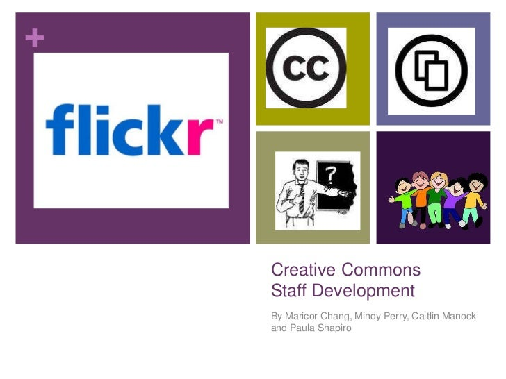 Creative Commons Staff Development Plan