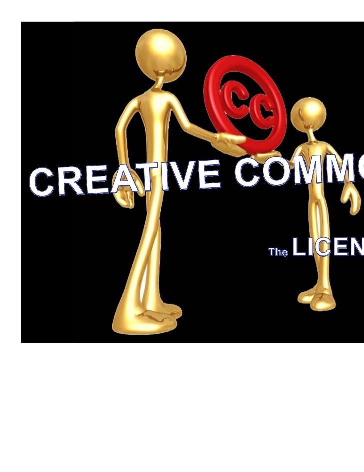 Creative Commons: The Licenses