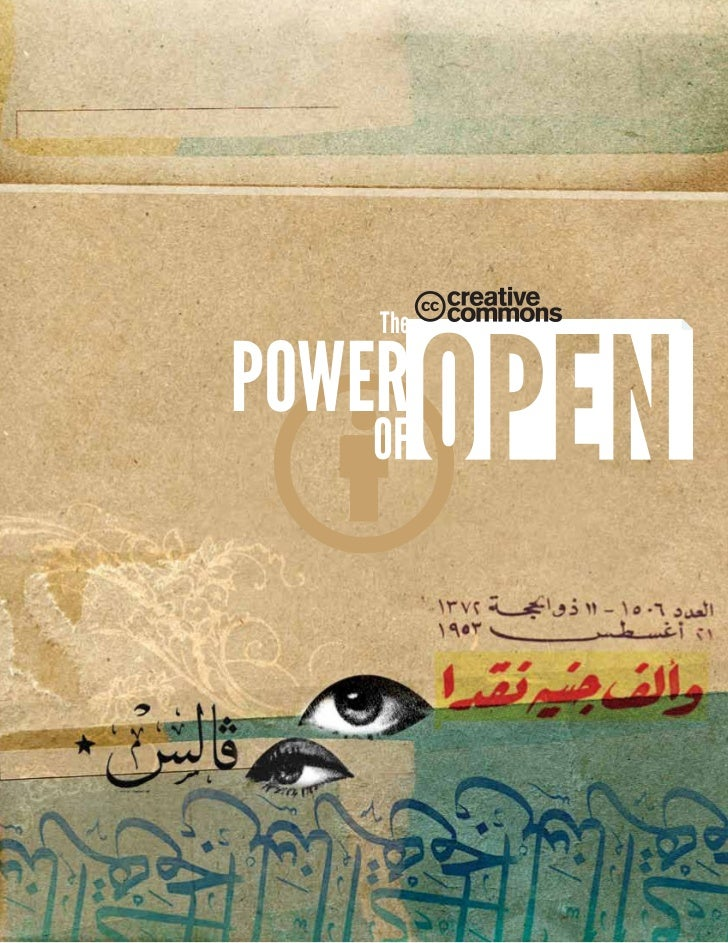 Creative commons: The Power of Open (español)