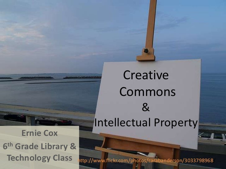 Creative commons and intellectual property