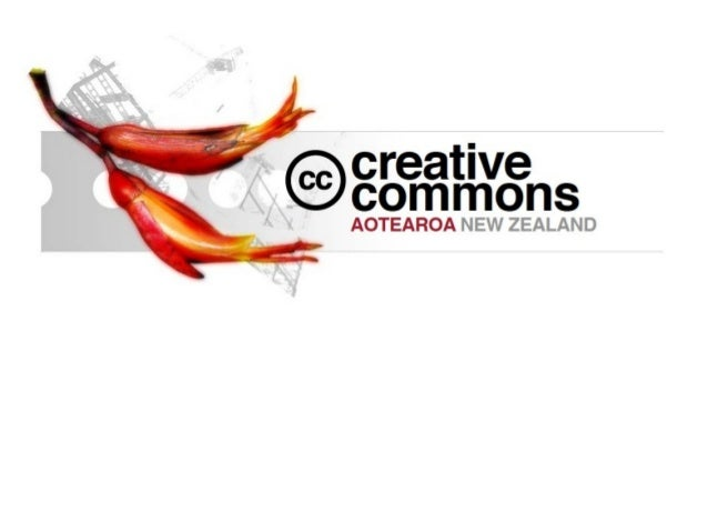 Creative commons for nz schools (april 2013)