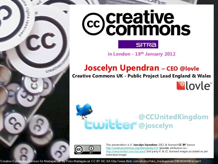Joscelyn Upendran: What is Creative Commons and How the Education Systems Can Be Improved by Opening It Up?