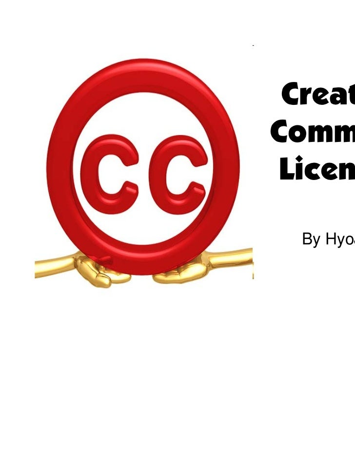 CreativeCommons Licenses  By HyoJae