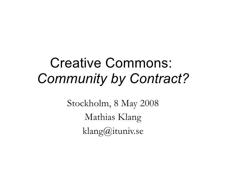 Creative Commons May08
