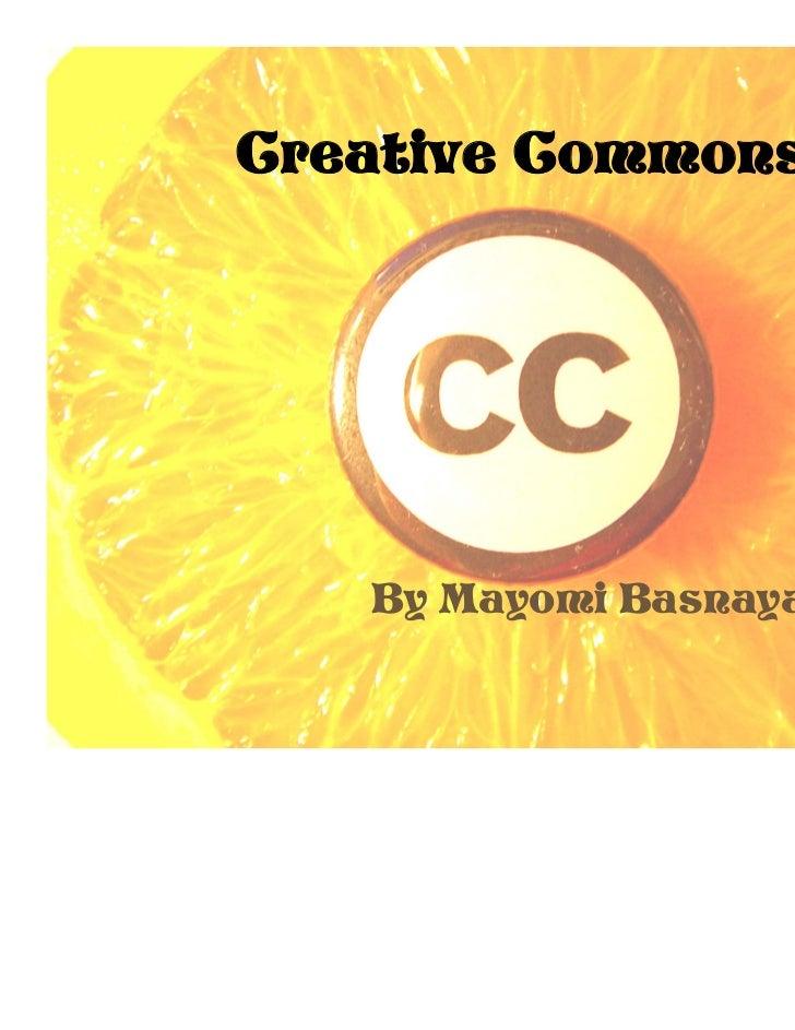 Creative Commons   By Mayomi Basnayaka 7K