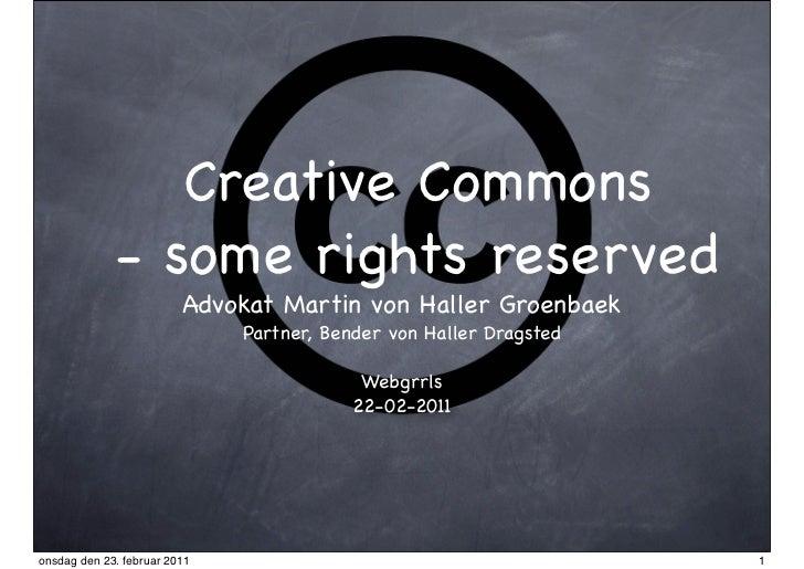 Creative commons webgrrls (22 02-2011)